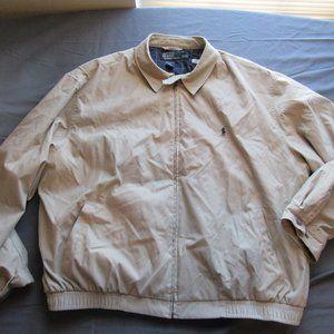 Mens Polo Ralph Lauren Bomber Windbreaker Jacket